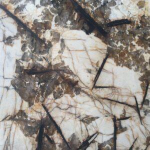 слэб кварцита blanc de blanc polished