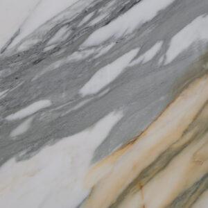 слэб мрамора calacatta gold polished