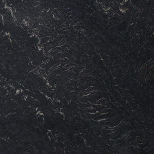 слэб кварцита cosmic black polished